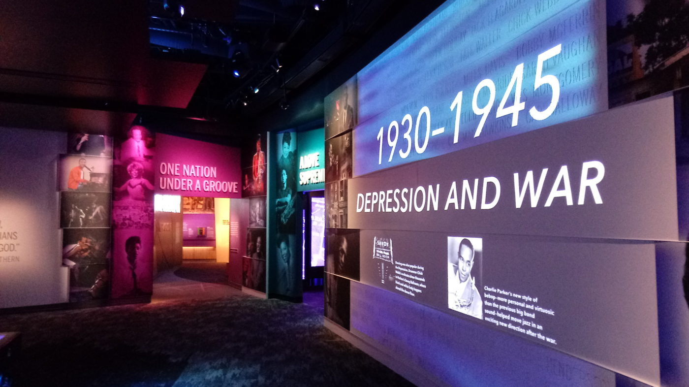 Hip Hop section of National Museum of African American Music