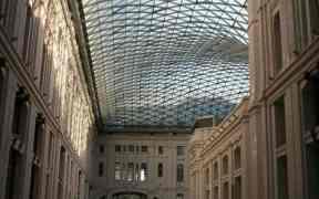 Atrium of Communication Palace at Plaza de Cibeles, Madrid, ES (2011-10)