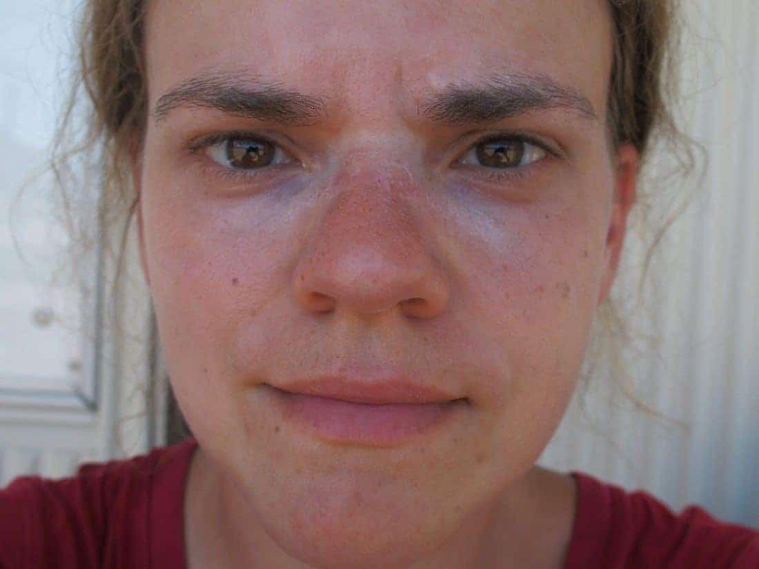 Carola is sweaty (2014-07)