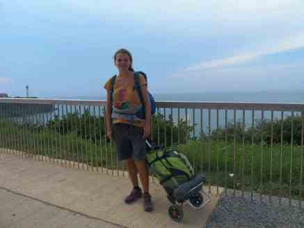 Walking Home, Week 23 and a Day: Getting there