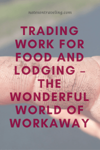 Thinking about doing a WorkAway (WWOOF or HelpX)? Find out what to expect. And if you aren't certain, yet, find out why you should give it a try.