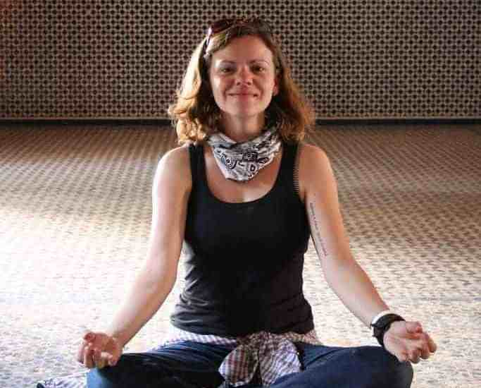 Carola in Marrakesh, Morocco (2011-10-30)