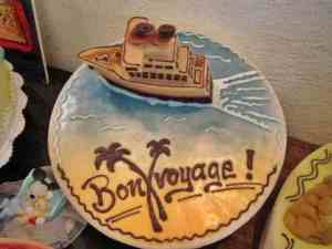 Bon Voyage cake, Munich, Germany (2012-08)