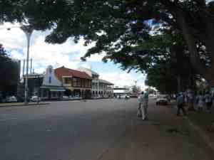 Main street in Bulawayo, Zimbabwe (2012-03)