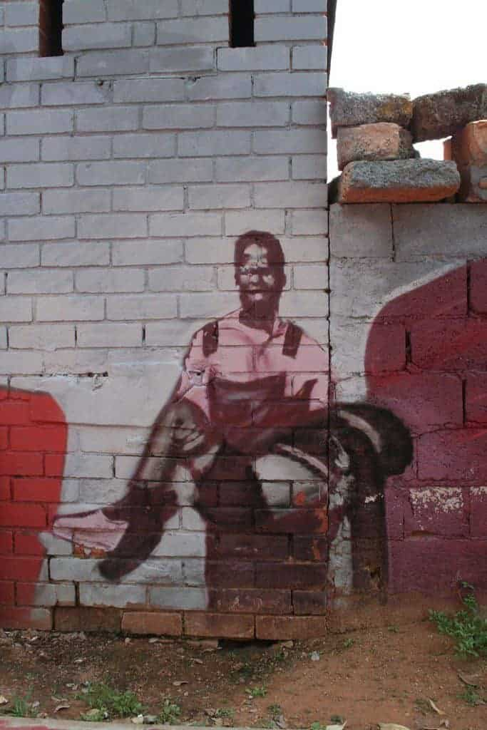 Street art in Soweto, Johannesburg, South Africa (2012-03)