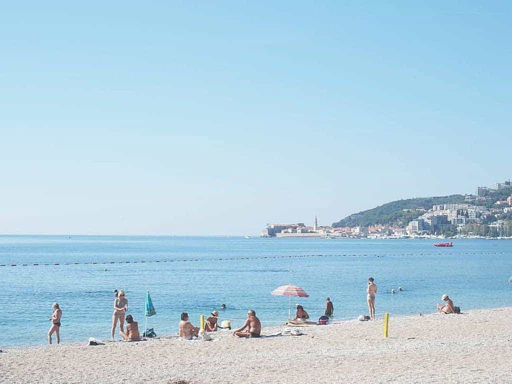 Budva beach, Montenegro (2016-10-01)