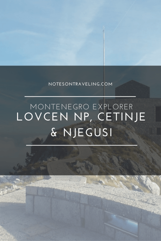 Montenegro Explorer - Lovcen National Park, Cetinje and Njegusi