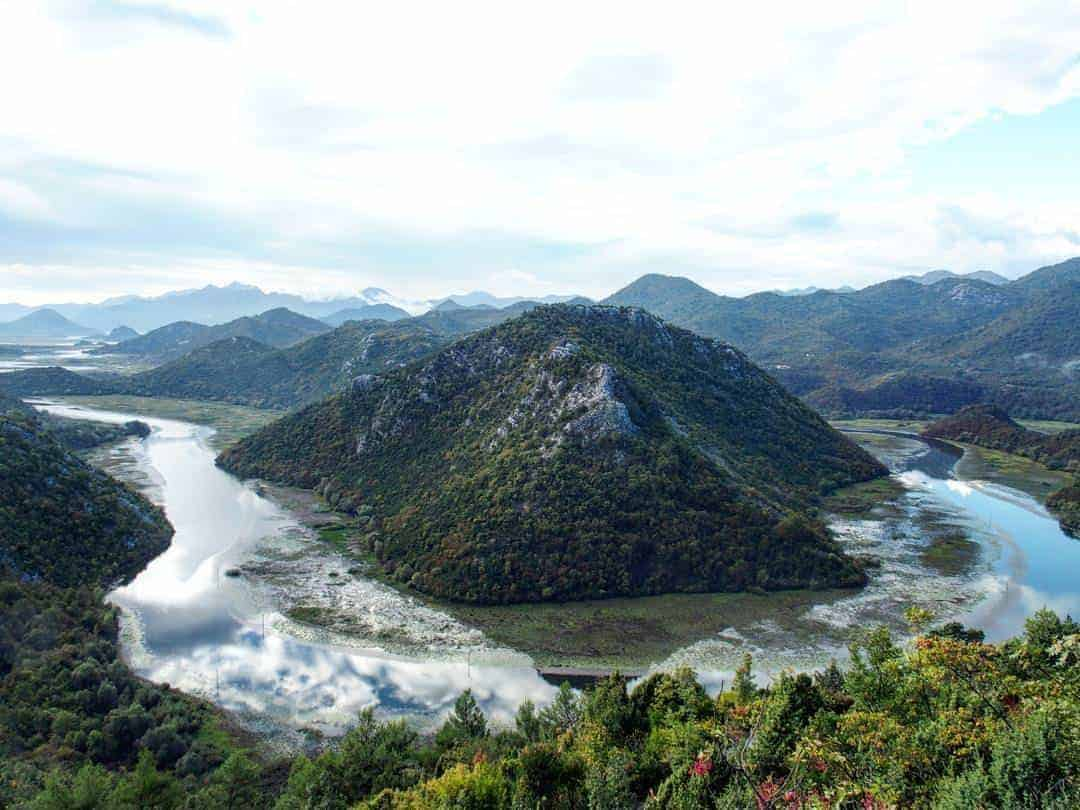 The best view of Skadar Lake
