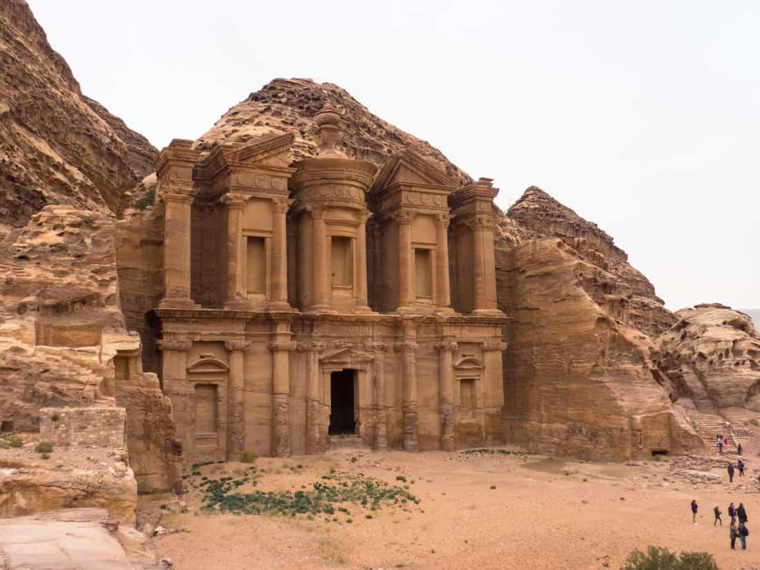 Monastery Al-Deir, Petra, Jordan (2016-12-23)