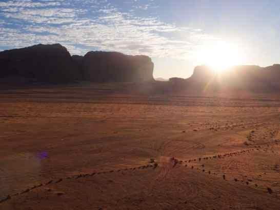 Sunset in Wadi Rum, Jordan (2016-12-26)