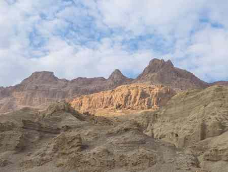 Mountains at Ein Gedi Nature Reserve, Israel (2017-01-04)