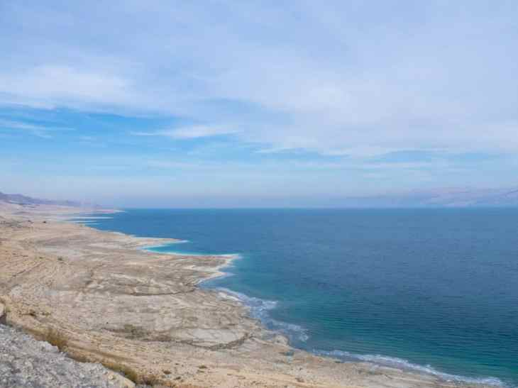 Qerim Beach at the Dead Sea, Israel (2017-01-05)