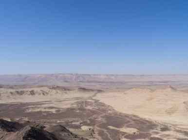 Panorama of Ramon Crater, Mitspe Ramon, Israel (2017-02-08)