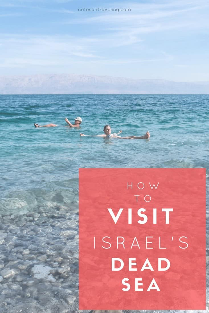 Let me share the local way of bathing/mudding in the Dead Sea with you! Includes practical info on transport, beaches, and accommodation on the Israeli side. #israelitinerary #travelguide #backpacking