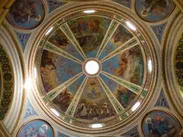 Stella Maris church ceiling, Haifa, Israel (2016-12)