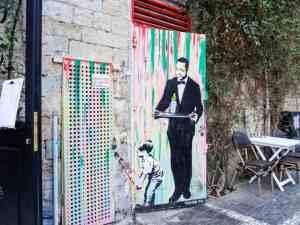 Street art, Jaffa, Israel (2017-02)