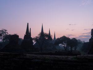 Wat Phra Si Sanphet, Ayutthaya, Thailand (2017-04)