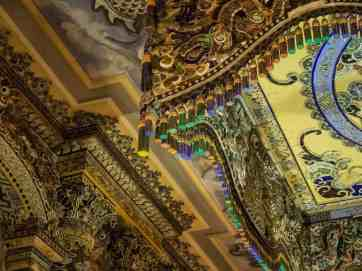 Inside the main hall at Khai Dinh Tomb, Hue, Vietnam (2017-06)