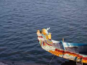 Dragon boat on Perfume River, Hue, Vietnam (2017-06)