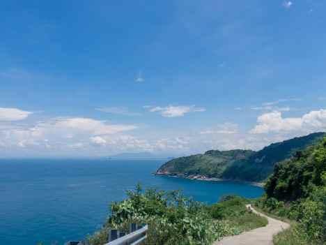 View of the sea on Monkey Peak peninsula, Da Nang, Vietnam (2017-06)