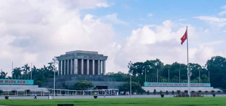 Ho Chi Minh Mausoleum, Hanoi, Vietnam (2017-07)