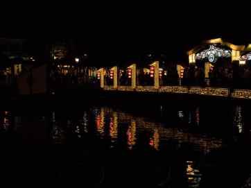 Hoi An bridge at night, Vietnam (2017-05/06)
