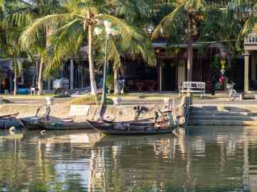 Boats on the river, Hoi An, Vietnam (2017-05/06)