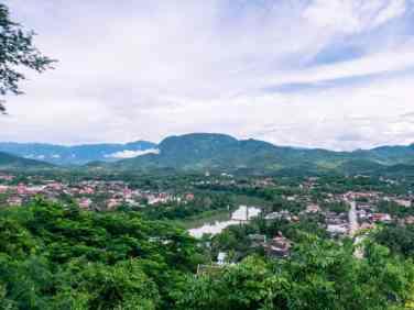 View from Mount Phousi, Luang Prabang, Laos (2017-08)