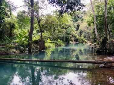 Pool at the Kuang Si source, Luang Prabang, Laos (2017-08)