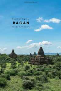 Exploring Bagan, Myanmar is as easy as it is difficult. To make it easier to choose from the 2,000+ accessible temples I have assembled this short guide. Incl. map and practical info. #travelguide #bagansunrise #myanmaritinerary