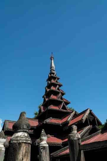 Bagaya Monastery, Inwa, Mandalay, Myanmar (2017-09)