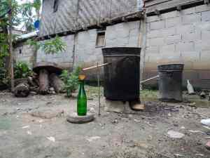 Rice wine brewing in Ban Baw Village, Luang Say Mekong river cruise, Luang Prabang to Huay Say, Laos (2017-08)