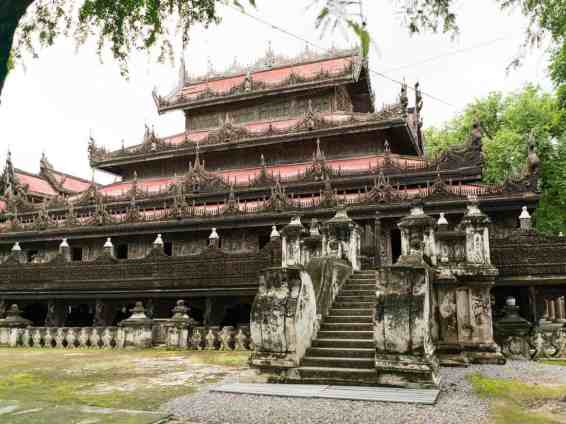 Golden Palace Monastery, Mandalay, Myanmar (2017-09)