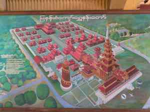 Plan of the Mandalay Royal Palace, Myanmar (2017-09)
