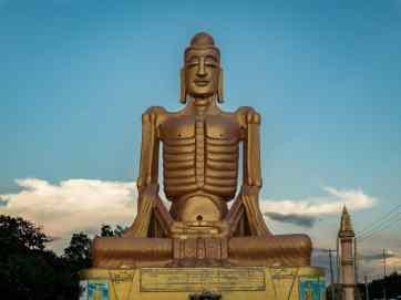 Skinny Buddha, Mandalay, Myanmar (2017-09)