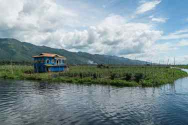 Inle Lake boat tour: Maing Thauk floating gardens, Myanmar (2017-10)