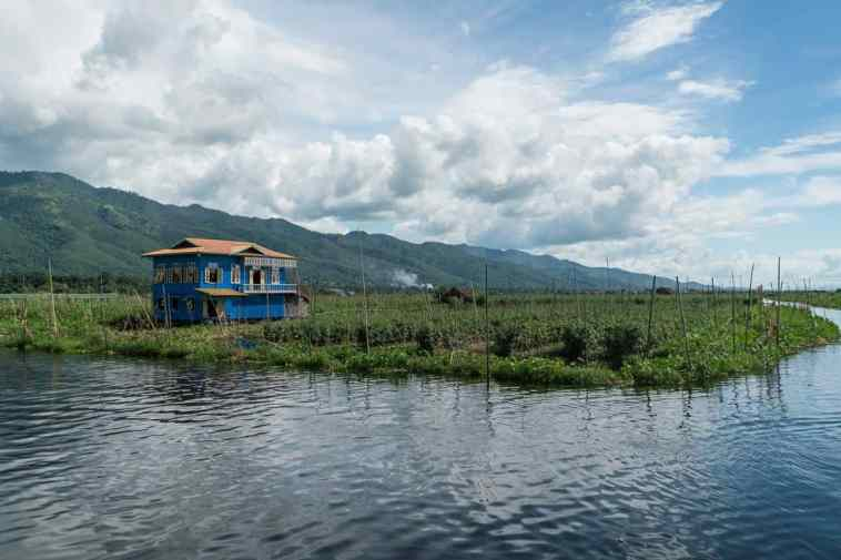 Inle Lake boat tour: Maing Thauk floating gardens, Myanmar (2017-10)