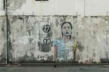 Penang Street Art, George Town, Malaysia - 20171221-DSC03066