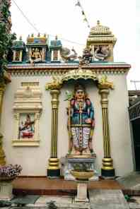 Penang Street Art: Architecture at the Sri Mahamariamman Hindu Temple, George Town, Malaysia - 20171222-DSC03166