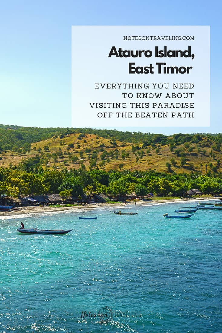 Atauro island is the second most visited region of East Timor offering prime diving plus off the beaten path hiking just off the Dili coast. This post gives you all the info you need to plan your visit: Atauro dive shops, Atauro boats, Atauro accommodation and more. #offthebeatentrack #southeastasia #backpacking