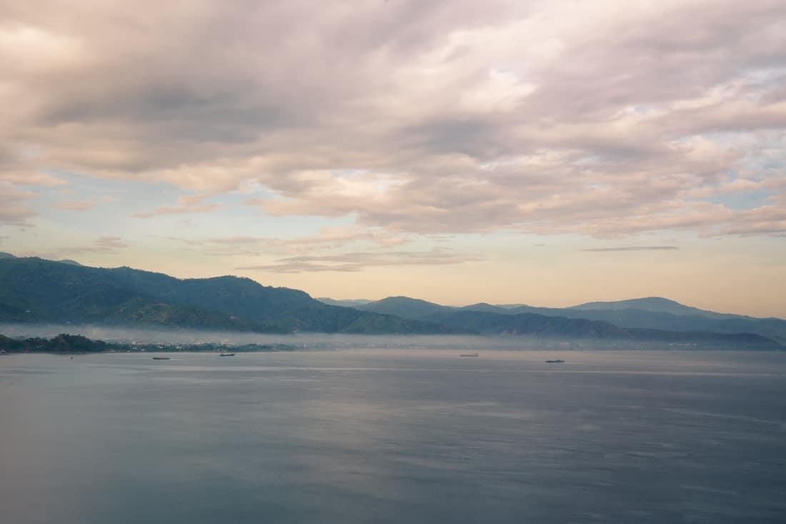 Dili at sunrise, East Timor