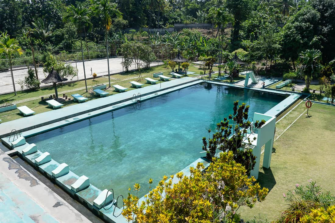 Baucau pool, East Timor