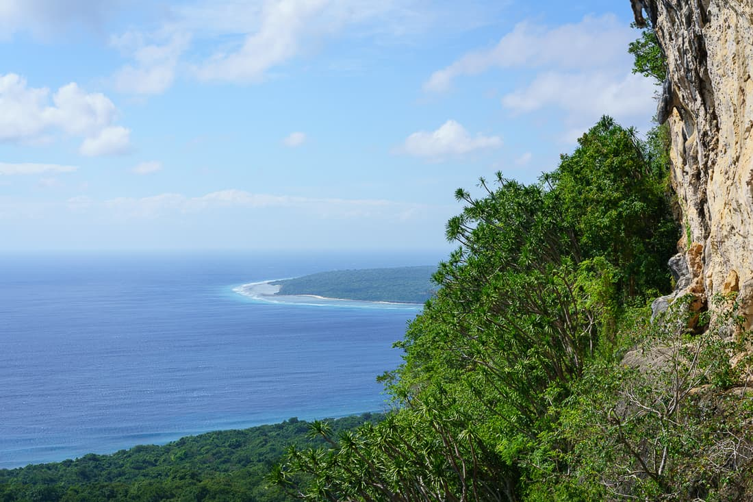 View from Kere Kere onto Jaco Island, Tutuala, East Timor