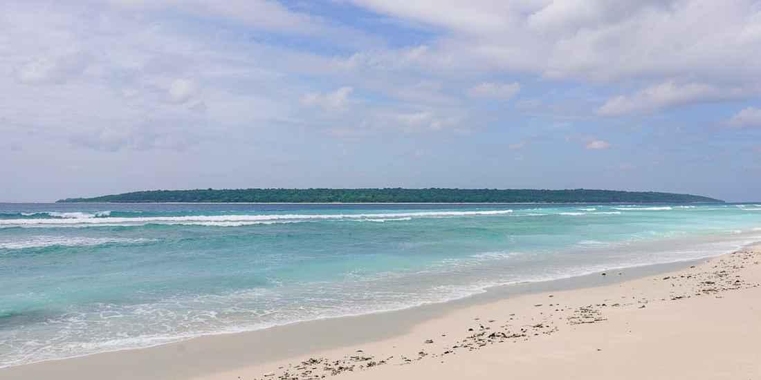 Jaco Island from Valu Sere beach, East Timor