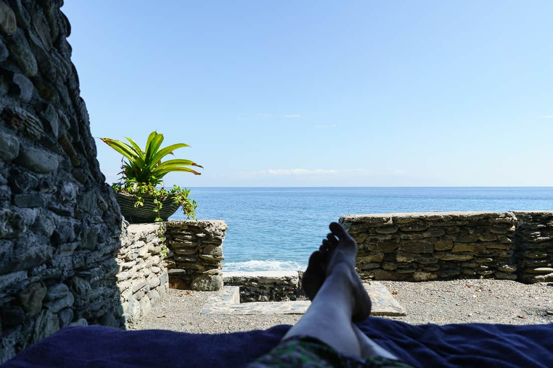 View from Caimeo Beach Resort, Liquica, East Timor