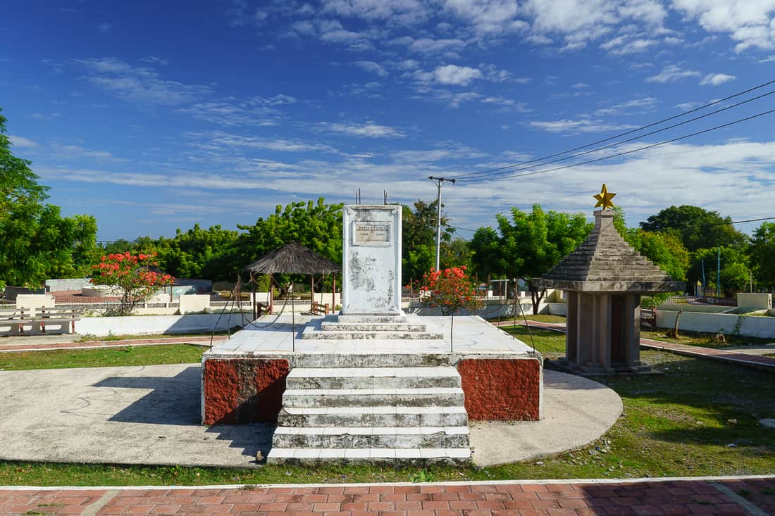 Liquica church massacre monument, East Timor