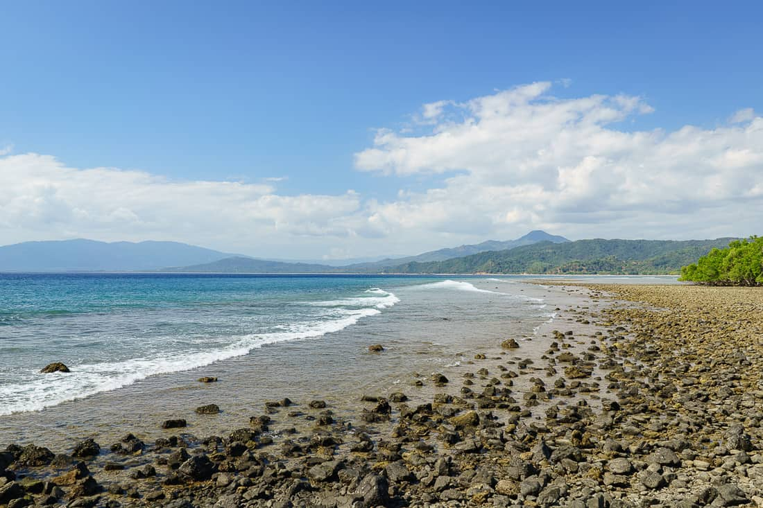 Atabae beach, East Timor
