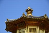 Nan Lian's golden pavilion