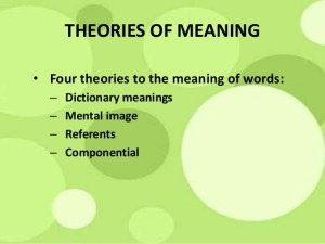 What Theories in Semantic can teach you about Linguistics