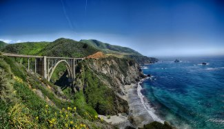 Bixby Bridge on Highway 1 by Max and Dee Bernt on Flickr